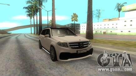 Mercedes-Benz AMG GLS63 for GTA San Andreas