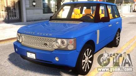 Range Rover 2009 for GTA 4