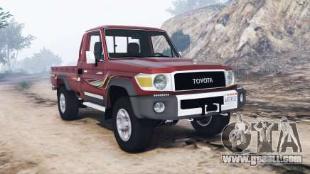 Toyota Land Cruiser 70 pickup v1.1 [replace] for GTA 5