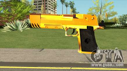 Gold Deagle for GTA San Andreas