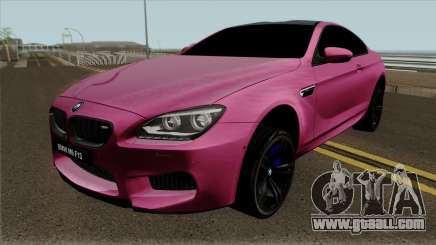 BMW M6 F13 Akrapovic for GTA San Andreas