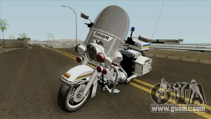 Harley-Davidson FLH 1200 Police of Ukraine for GTA San Andreas