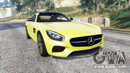 Mercedes-AMG GT (C190) 2016 v2.2 [add-on] for GTA 5