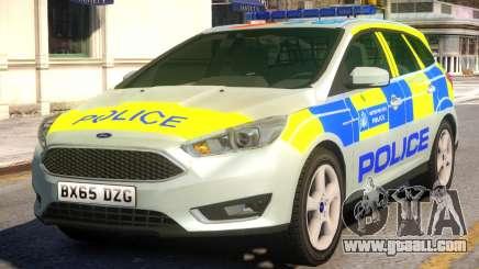 Police Ford Focus Estate for GTA 4