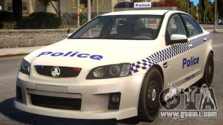 Holden Commodore Police for GTA 4