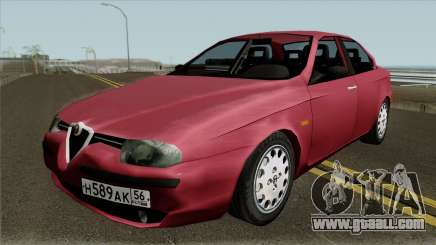 Alfa Romeo 156 for GTA San Andreas