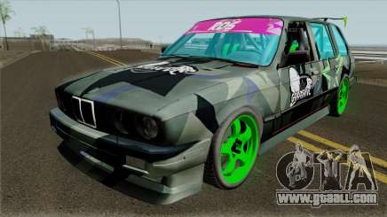 BMW E30 Touring Drift for GTA San Andreas