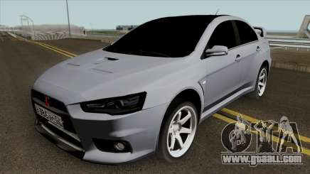 Mitsubishi Lancer Evolution X Light Tuning for GTA San Andreas