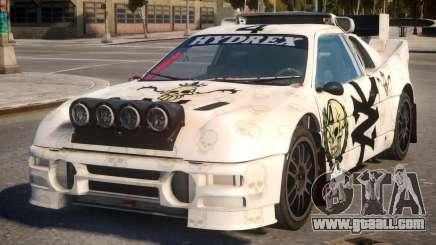Ford RS200 Evolution Rallycross V.1.2 for GTA 4