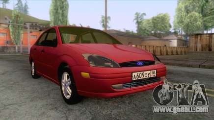 Ford Focus Sedan 2000 for GTA San Andreas