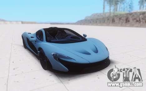 McLaren P1 for GTA San Andreas