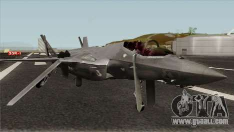 Lockheed Martin F-35A Lighting II for GTA San Andreas