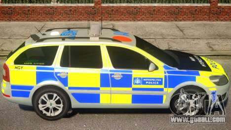 Skoda Octavia Bromley Area for GTA 4