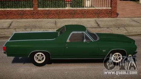 Chevrolet El Camino SS 454 v1 for GTA 4