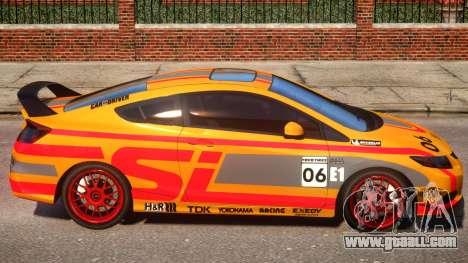 2013 Honda CivicSi PJ1 for GTA 4