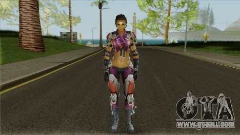 Skin Maven from Ghost in The Shell (with a face) for GTA San Andreas