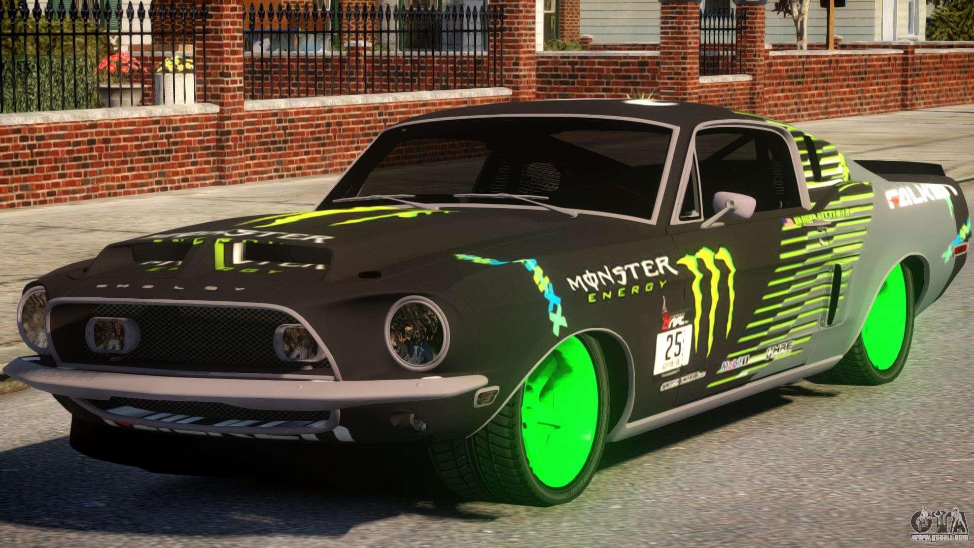 Shelby gt500 69 monster for gta 4