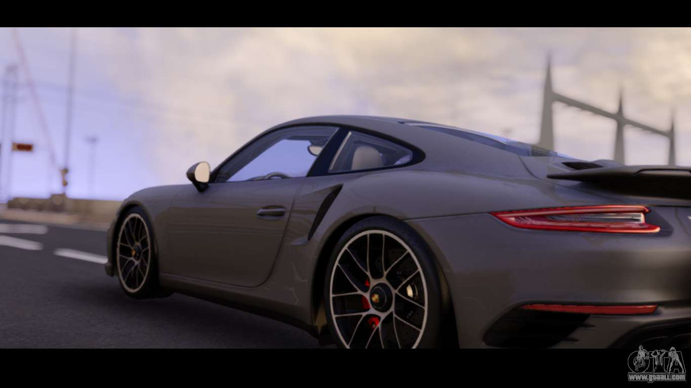 Porsche 911 Turbo S For GTA San Andreas Left View