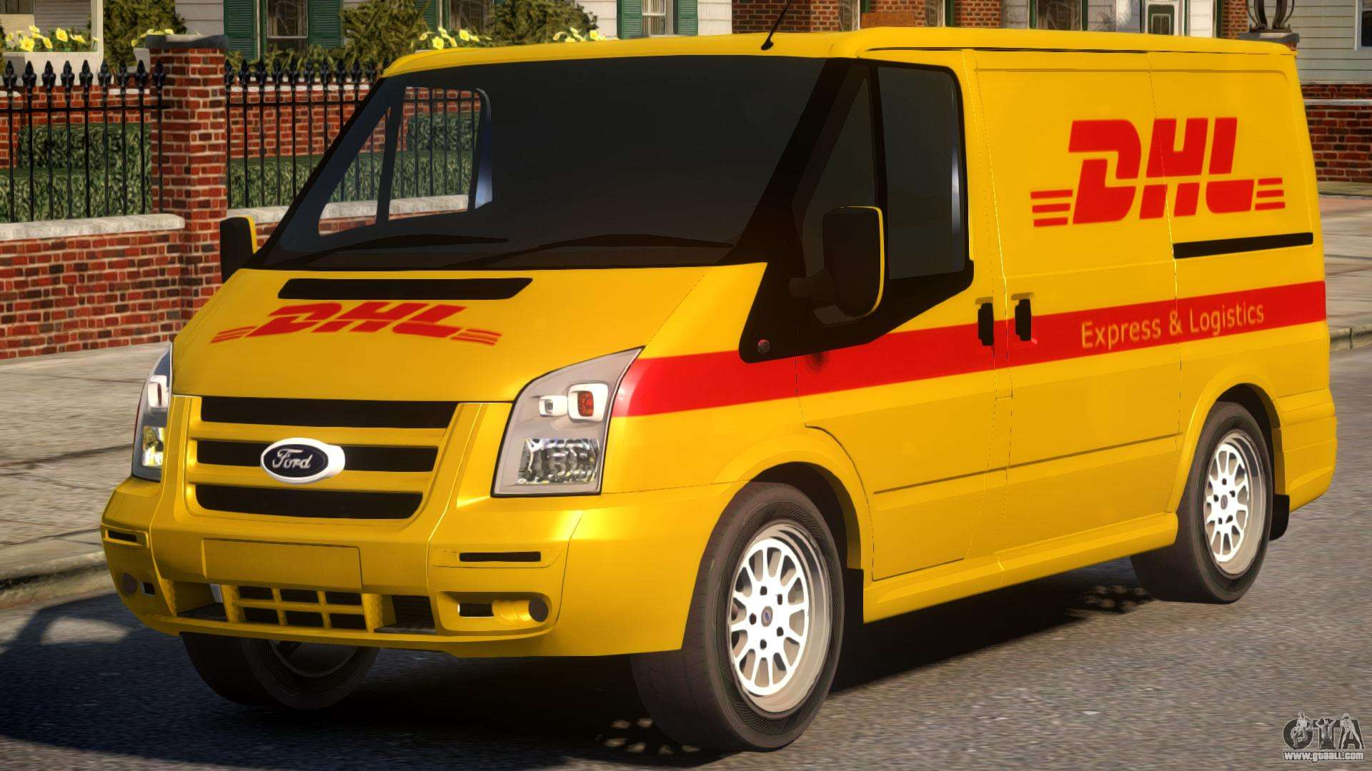 Ford Transit DHL for GTA 4