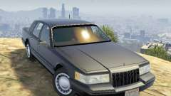Lincoln TownCar 1991 for GTA 5
