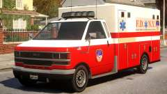 Ambulance New York City for GTA 4