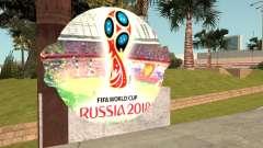 FIFA World Cup Russia 2018 Stadium for GTA San Andreas