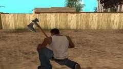 Hacha Leviathan God of War 4 for GTA San Andreas