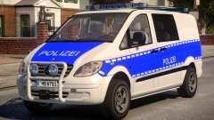 Mercedes Benz Vito German Police