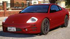 Mitsubishi Eclipse GTS First Stock Rim for GTA 4