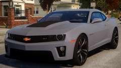 Chevrolet Camaro ZL1 V1 for GTA 4