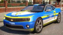 Chevrolet Camaro 2012 Ubisoft Racing Team for GTA 4