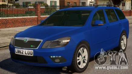 Skoda Octavia Civ for GTA 4
