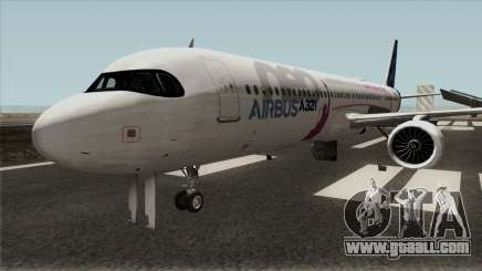 Airbus A321LR for GTA San Andreas