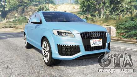 Audi Q7 V12 TDI quattro (4L) 2008 [replace] for GTA 5
