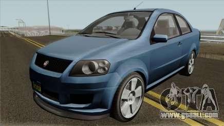 Declasse Asea Coupe GTA V IVF for GTA San Andreas