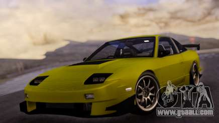Nissan 180SX URAS for GTA San Andreas