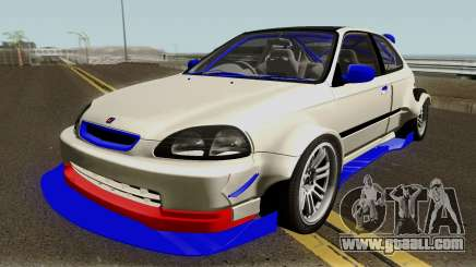 Honda Civic Type R Forza Edition Series VI 1997 for GTA San Andreas