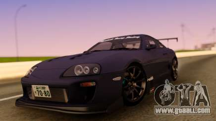 Toyota Supra JZA80 for GTA San Andreas