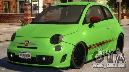 Fiat Abarth 500 for GTA 4