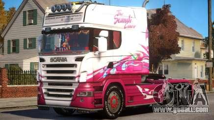 Scania R580 Longline Custom PJ2 for GTA 4