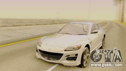 Mazda RX-8 Stock for GTA San Andreas