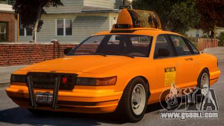 New York Taxi V1 for GTA 4