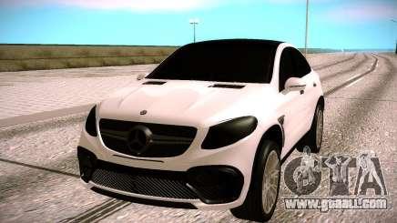 Mercedes Benz GLE CLR 900 Tuning for GTA San Andreas
