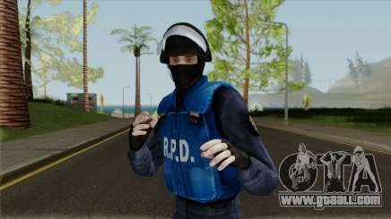 Raccoon City SWAT for GTA San Andreas