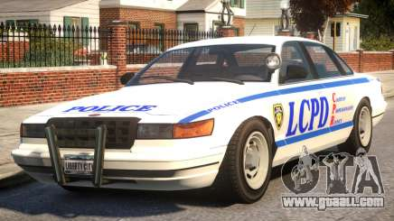 Police New York City for GTA 4
