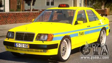 Mercedes E500 Taxi Portugal for GTA 4