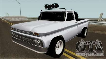 Chevrolet C10 Rusty Rebel for GTA San Andreas