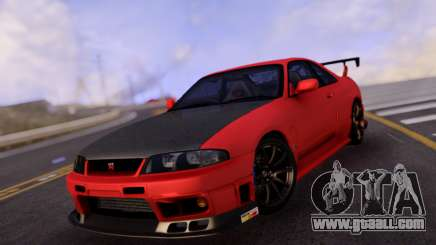 Nissan Skyline R33 GT-R for GTA San Andreas
