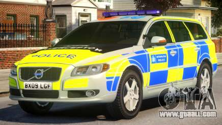 Volvo V70 ANPR Interceptor V.2 for GTA 4