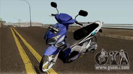 Yamaha Nouvo Z Blue STD for GTA San Andreas